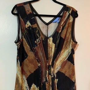 Simply Vera Vera Wang patterned dress